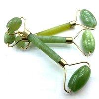 Green Aventurine Health Natural Facial Beauty Massage Tool Jade Roller Face Thin massager