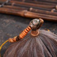 Tennis Tibetan-Dzi Stone Buddista Handmade Sandalo Sandalo perline Avvolgere braccialetti Yoga Meditazione Meditazione Gioielli Preghiera