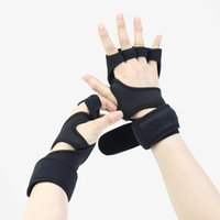 Männer Frauen Körperliche Übung Bodybuilding Apparate Handschuh Handgelenkstütze Halbfinger Trainingsraum Bewegung Handschuhe Belüftung dünnen Schutz