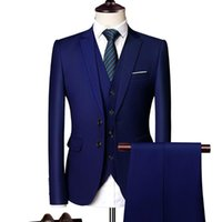 Costumes Hommes Blazers 2021Suit Mariage 2 Bouton Blazer Mariage Tuxedos 3 Business Business Hommes Suit Terno Slim Fit