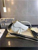 Borse da sella in pelle bovina stile classico di alta qualità handbag univoco donne lussurys designer borse 2021 quattro colori disponibili borsa a tracolla tote portafogli porta carte