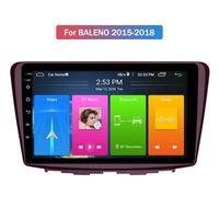 Vidéo radio auto multimédia écran écran stéréo téléphone Touchez 2 DVD DVD de voiture de 9 pouces pour Suzuki Baleno 2015-2018