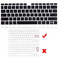 Per Huawei Matebook 14 / D14 / D15 / x 2021 / x Pro 13.9 / onore MagicBook 14/15 / PRO 16.1 Tastiera per laptop Copertura per tastiera nera Protector Pellicola Coperture per la pelle