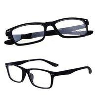 R8145 Classic Marke Brille Frames Bunte Kunststoff Optische Brillen Vintage Eyewear Modell Schwarze Farbe