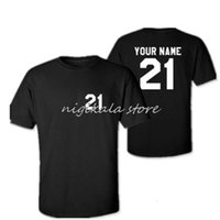 Polo drôle personnalisé 21 T-shirt Prete Poison / Football / Basketball / Baseball / Hockey / Football Tshirt Femmes Tea Toute la couleur Texte