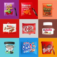 3D Cute Chocolate Chips Snacks Anti-fall Headset Protective Cases Soft Siicone For Apple Airpods 1 2 Pro Bluetooth Earphone Cover Case