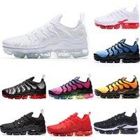 TN Plus Shoes 트리플 블랙 화이트 파스텔 레몬 라임 포도 볼트 TNS 망 Womens 트레이너 Chaussures 운동 스포츠 스니커즈 36-45
