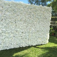 Arrival Artificial Hydrangea Peony Rose Mix Flower Wall Wedding Backdrop Pillar Road Lead Decoration Supplies 20pcs lot Decorative Flowers &