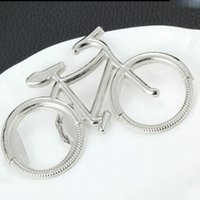 Keychain Opener Geschenkflasche Nette Bier Metallöffner Mode Fahrradform GWE6207