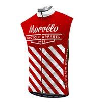 Morvelo 팀 프로 사이클링 민소매 Ciclismo 여름 저지 조끼 의류 산 통기성 경주 소프트 피부 친화적 인 멀티 컬러 옵션 자전거 Z41051