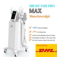 Burn fat reduce Electro magnetic stimulation hiemt Body Slimming Machine with 4 handles Muscle Stimulator