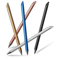 Fountain Pens ZKE0220 Full Metal No Ink Pen Luxury Eternal Inkless Beta Writing Stationery Office School Supplies