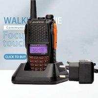 Baofeng uv-6r walkie talkie 5w rádio uhf vhf banda dupla uv 6r cb aggiornamento di uv-5r