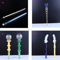 흡연 유리 Dabber 도구 연필 버섯 나이프 왁스 오일 장비 스틱 조각 도구 DAB 못 석영 쿼츠 Banger