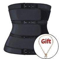 MUKATU Waist trainer body shaper plus size wasit trainer womens belly control sweat belt cinta modeladora waste trainers 201224