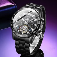 Relogio Masculino LIGE Mens Watches Fashion Top Business Automatic Mechanical Watch For Men Casual Waterproof Clock Wristwatche Wristwatches