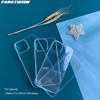 Glossy Fitted Hard Plastic Clear Cases For iphone 13 pro Max Mini PC Phone Cover 13pro 13mini Mobile Shell