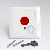 Alarm Systems Emergency Panic Button Fire Switch NO NC COM Security Key Reset For HO-01B +