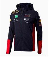 Sweatshirts F1 Jacket Style Pull Collier Course Racing Equipe Commémorative Plus Taille Sportswear Formule 1 Personnaliser Sweats à capuche QUTS