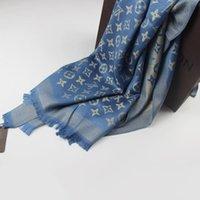 Buona sciarpa per donna filo oro filo di seta stili classici lunghi 180x70cm 12 colori scelto sciarpe scialle senza scatola