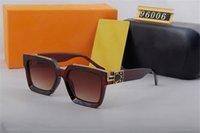 Milionários de luxo SU NGLASSES Mens Designer Sunglasses 96006 Moda de marca polarizada para o vidro de condução de verão