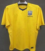 2021 2022 Ucrânia Jersey Jersey Home Amarelo Azul 21 22 Maillotos de Futebol Vitaliy Mykolenko Oleksandr Zinchenko Ruslan Malinovskyi Viktor Tsygankov