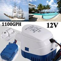 Pool & Accessories Bilge Auto Water Pump High Quality Stainless Steel Control The Switch Automatically According To Level For Boat