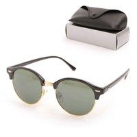 Lunettes de soleil Womans de haute qualité Luxury Hommes Sun lunettes UV Protection hommes Designer Vieweglass Gradient Métal Charnière Mode Femmes Spectacles avec Boxes originales 246