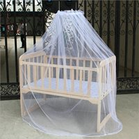 Crib Netting Summer Baby Mosquito Net Mesh Dome Bedroom Curtain Nets Born Infants Portable Canopy Kids Bed Supplies