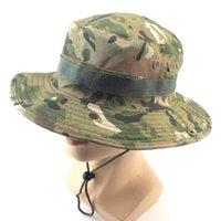 Cloches Tactical Sniper Army Boonie Hat Camouflage Bucket Cappelli Caccia Hunt Escursionismo Pesca Climbing Cap Accessori Militare maschio