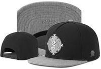 Оптовая продажа стиль Cayler Sons Brooklyb Bkny100 клен листьев кожаные Brim Snapback Hats бейсбольные колпачки хип-хоп Casquette лето для мужчин