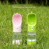 Pet Water Bottle Portable Food Outdoor Doggy Feeders Travel Drinker Dog Bowl