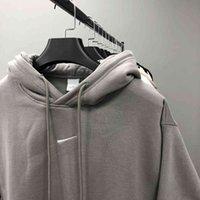 Versión correcta de FOG CO Marca Double Hoodel Folloy Sleep High Street Sweater para hombres Mujeres en otoño e invierno 20aven NUEVA PARES QKEM