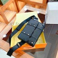 트렁크 슬링 가방 메신저 상자 남자 허리 가방 망 크로스 바디 벨트 백 트렁크 디자이너 크로스 바디 핸들 가방 패션 플랩 핸드백 M57952