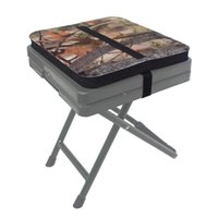 Outdoor-Pads Camping Picknick Angeln EVA Sitz Feuchtigkeitsbeständigkeit Sitting Pad Kissen Camo Schaummatte Stadion mit verstellbarem Riemen