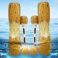 Life Vest & Buoy 4PCS Set Swimming Pool Float Game Inflatable Water Sports Bumper Toys For Adult Children Party Gladiator Raft Kickboard Toy