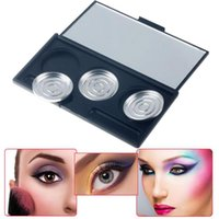 Eyeshadow Blush Empty Box DIY 3 Colors Accessories Portable Beauty Tools For Women FRE-Drop Eye Shadow