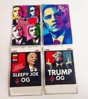 Obama Runtz3.5g Trump OG Sleepyy Joe Biden Bag con cerniera Stand Up Pouch 420 Borse per imballaggio in plastica