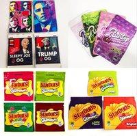 100 pack infuse jokes up runtz cooki mylar Edibles packaging bags 3.5 ziplock pink hawaiian OG runty stand pouch kobbler 420 Stuburst dry flower