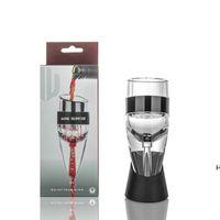 NOUVEAU Aérateur de vin magique Vin rouge Eechanter avec sac et filtre trémie trémieusement DHD6093