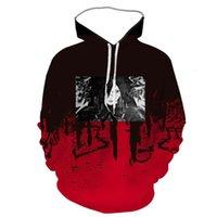 3D sweater digital print Naruto hooded madara men's and women's Sweatshirt