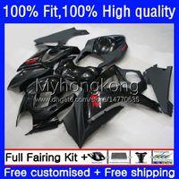 Bodywork OEM For SUZUKI GSXR 1000CC 1000 CC K7 Injection Mold Body 27No.142 GSXR-1000 GSXR1000 07 08 GSXR1000CC 2007 2008 Gloss black GSX-R1000 2007-2008 Fairing Kit