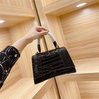 2021 Frauen Handtaschen Taschen Lady Luxus Einkaufstasche Big Damen Klassische Krokodil Muster Kreuz Körper Umhängetaschen Brieftasche Brieftaschen Mode Handtasche Geldbörsen Designer