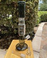 Calavera negra de la tubería de agua de 12 pulgadas | Filtro de vidrio BONG DAB RIG RIG RUP BUBBLER PERK BOOK HOOKAH BONGS EEUU Stock Envío rápido