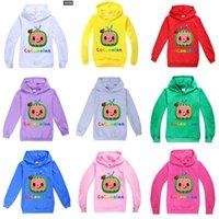 Cocomelon Bebek Erkek Sweatershirt Bahar Sonbahar Çocuk Kapüşonlu Hoodies Boys 've Kız' Moda Kazak Üst Rahat Spor Giyim G4988Ti