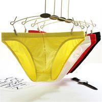 Underpants 4Pcs Lot Selling Men Sexy Underwear Solid Color Plus Size Men's Cotton Briefs Classic Low Rise Boxer For Young Man