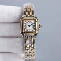 Reloj de alta calidad Relojes Reloj Moda Reloj de acero inoxidable Pulsera de acero Relojes de las mujeres Casual All-Match Jewelry Wristwatch Caja Bolsa Regalo