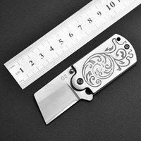 Mini Bıçak Cep Bıçak Soğuk Çelik EDC Açık Kamp Anahtarlık Kendini Savunma Çok Aracı Erkekler için Hediyeler