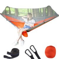 Automatic quick opening Mosquito Net Hammock outdoor proof air tent camping double hammock with mosquito net5DUO{category}