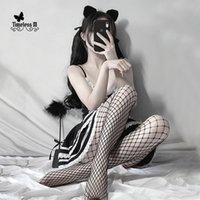 Women Sexy Fishnet Pantyhose Mesh Stocking Transparent Slim Party Club Net Holes Black Tights Small middle big Socks & Hosiery